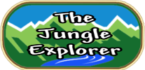 The Jungle Explorer.  Independent Rugged Individualist Logo