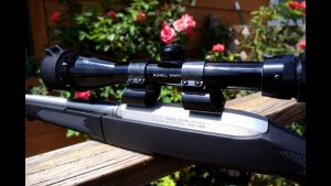 Ruger 10/22 See-Thru Scope Mounts. Installation and scope adjustment