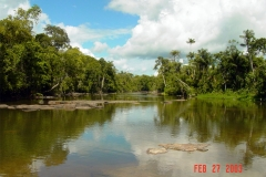 Dry Season on the Jatapuzinho River