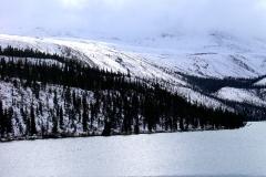 First Snow on Yukon Mountains