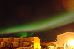 Multi-colored  Aurora Borealis over Inuvik, NWT