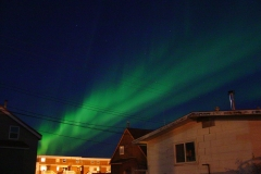 Northern Lights over Inuvik