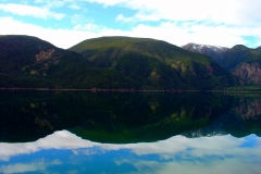 Reflection in Muncho Lake