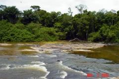 River Rapids on the Jatapu River