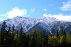 Snow Capped Mountains of the Yukon