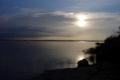 Sunrise on Santa Rose Lake
